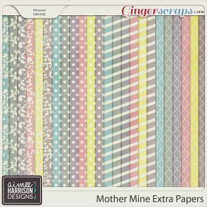 Mother Mine Extra Papers by Aimee Harrison
