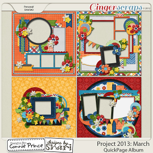 Project 2013: March - QuickPages