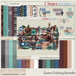 Gone Fishing Bundle by JoCee Designs