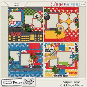 Retiring Soon - Super Hero - QuickPage Album