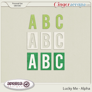 Lucky Me Alpha by Aprilisa Designs