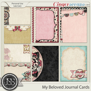 My Beloved Journal Cards