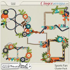 Sports Fan - Cluster Pack