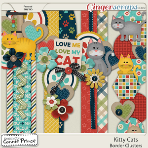 Kitty Cats - Border Clusters