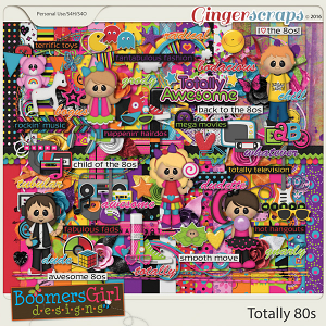 Totally 80s by BoomersGirl Designs