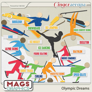 Olympic Dreams WINTER Pack by MagsGraphics