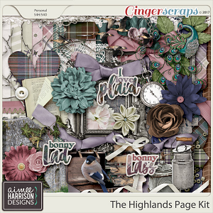 The Highlands Page Kit by Aimee Harrison