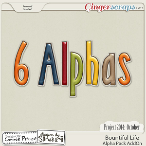Project 2014 October: Bountiful Life - Alpha Pack AddOn