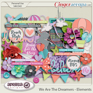 We Are The Dreamers - Elements by Aprilisa Designs