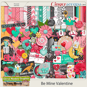 Be Mine Valentine by Clever Monkey Graphics