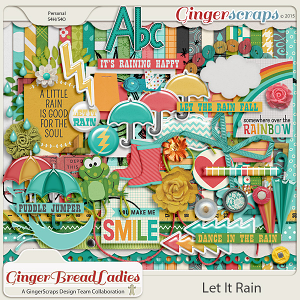 GingerBread Ladies Collab: Let It Rain