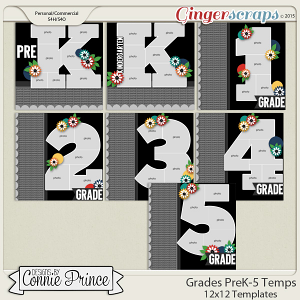 Grades PreK - 5th Grade - 12x12 Temps (CU Ok)