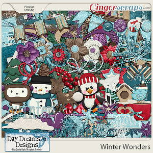 Winter Wonders {Kit} by Day Dreams 'n Designs