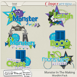 Retiring Soon - Monster In The Making - WordArt