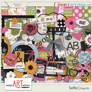 Selfie Page Kit