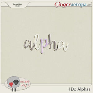 I Do Alphas by Luv Ewe Designs