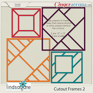 Cutout Frames 2 by Lindsay Jane