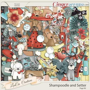 Shampoodle and Setter Page Kit
