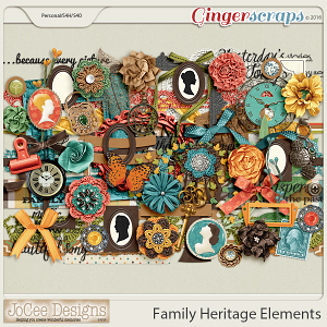 Family Heritage Element Pack