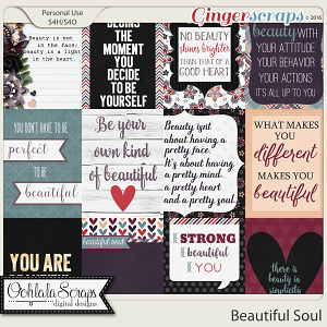Beautiful Soul Journal and Pocket Scrap Cards