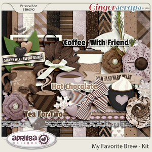 My Favorite Brew Kit by Aprilisa Designs