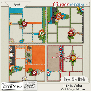 Project 2014 March: Life In Color - QuickPages