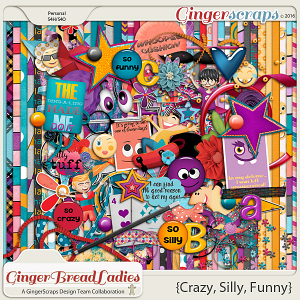 GingerBread Ladies Collab: Crazy, Silly, Funny