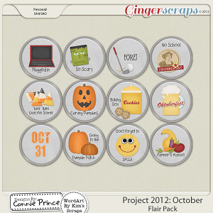 Retiring Soon - Project 2012: October - Flair Pack