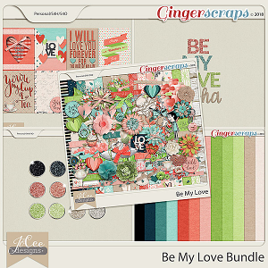 Be My Love Bundle by JoCee Designs