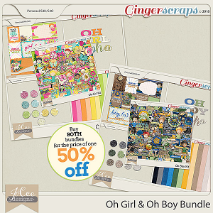 Oh Girl/Oh Boy Bundle by JoCee Designs