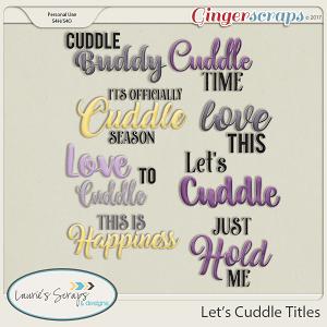 Let's Cuddle Titles