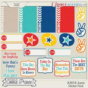 #2016 June - Sticker Pack