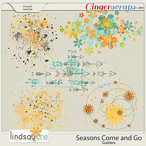 Seasons Come and Go Scatterz by Lindsay Jane