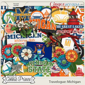 Travelogue Michigan - Kit