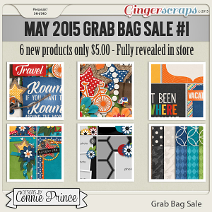 May 2015 Grab Bag #1 Sale - Travelogue