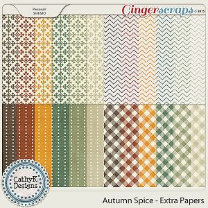 Autumn Spice - Extra Papers