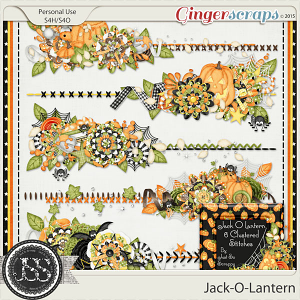 Jack O Lantern Cluster Stitches