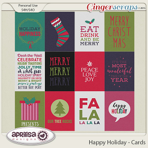 Happy Holiday - Cards