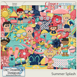 Summer Splash {Kit} by Day Dreams 'n Designs