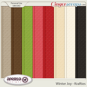 Winter Joy - Krafties by Aprilisa Designs