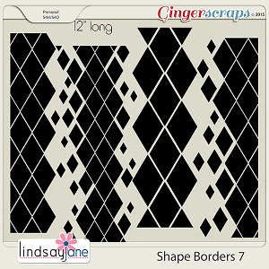 Shape Borders 7 by Lindsay Jane