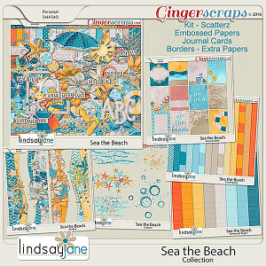Sea the Beach Collection by Lindsay Jane