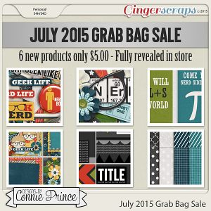 July 2015 Grab Bag Sale - Talk Nerdy To Me