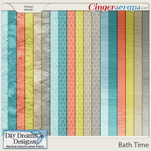 Bath Time {Extra Papers} by Day Dreams 'n Designs