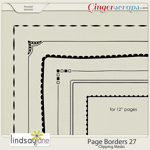 Page Borders 27 by Lindsay Jane