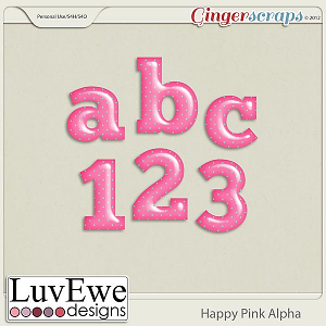 Happy Pink Alpha