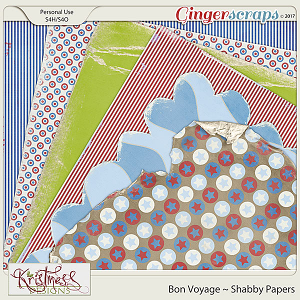 Bon Voyage Shabby Papers