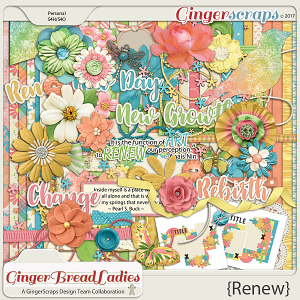 GingerBread Ladies Collab: Renew