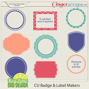 CU Badge and Label Makers