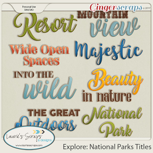 Explore: National Parks Titles